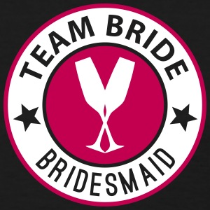 Team Bride Badge - Bridesmaid - Women's T-Shirt