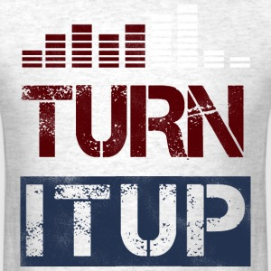 Turn It Up Equalizer - Men's T-Shirt