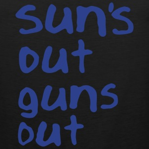SUN'S OUT GUNS OUT Men - Men's Premium Tank