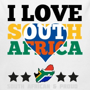 I Love south africa Baby & Toddler Shirts - Long Sleeve Baby Bodysuit