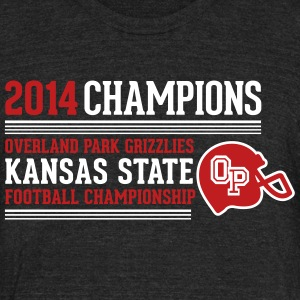 Most Popular Girls 2014 Champions light T-Shirts - Unisex Tri-Blend T-Shirt by American Apparel