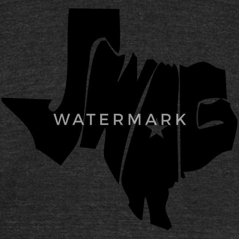 Texas Swag Tee - Unisex Tri-Blend T-Shirt by American Apparel