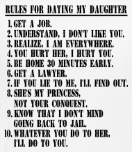 Military Dad Rules For Dating Daughter