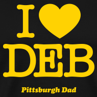 Design ~ I Heart Deb T-Shirt