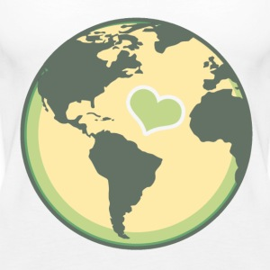 earth love - Women's Premium Tank Top