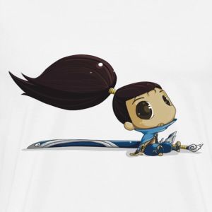 Cartoon Yasuo T-Shirts - Men's Premium T-Shirt