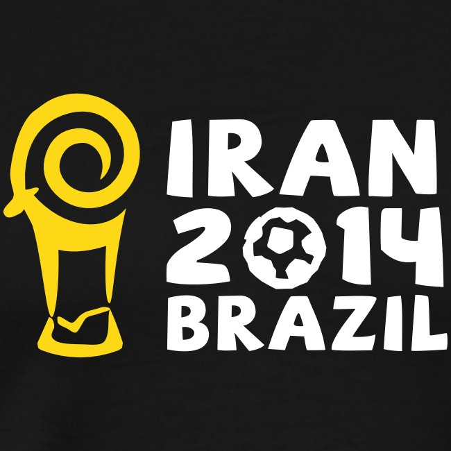 Iran 2014 brazil Men's Tee