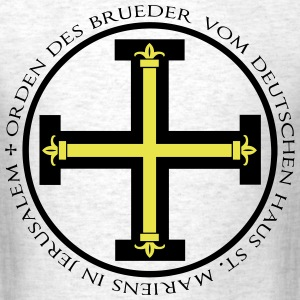 Teutonic Knights T-Shirt - Gray - Men's T-Shirt