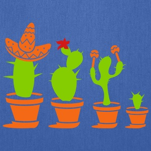 Cactuses with sombrero and maracas Bags & backpacks - Tote Bag