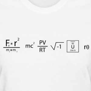 Equation Shirt - Genius - Women's T-Shirt