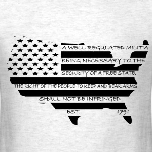 Second Amendment USA - Men's T-Shirt