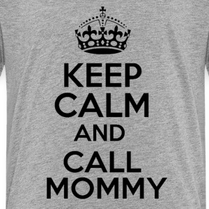 KEEP CALM CALL MOMMY Kids' Shirts - Kids' Premium T-Shirt