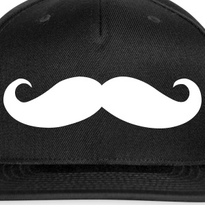 Mustache - Snap-back Baseball Cap