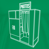 Design ~ Photobooth.net Men's T-Shirt