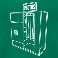 Design ~ Photobooth.net Men's American Apparel T-Shirt