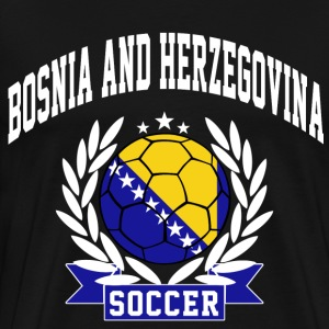 bosnia_and_herzegovina_soccer T-Shirts - Men's Premium T-Shirt