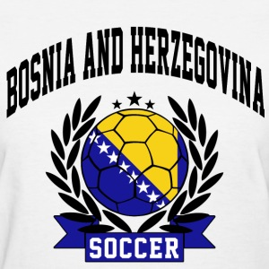bosnia_and_herzegovina_soccer Women's T-Shirts - Women's T-Shirt
