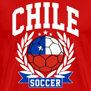 chile_soccer T-Shirts - Men's Premium T-Shirt