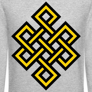 Knot pattern Long Sleeve Shirts - Crewneck Sweatshirt