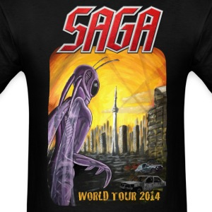 Saga World Tour Shirt 2014 - Men's T-Shirt