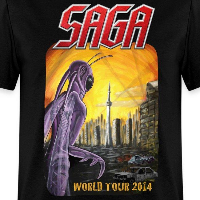 Saga World Tour Shirt 2014