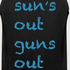 Sun's Out Guns Out - 22 Jump Street Channing Tatum - Men's Premium Tank