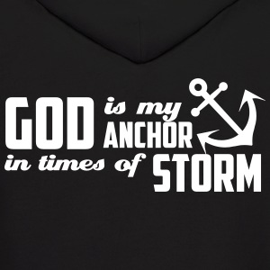 God is my Anchor Hoodies - Men's Hoodie