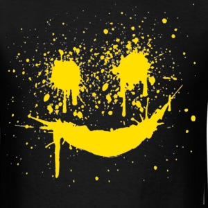 smile paint - Men's T-Shirt