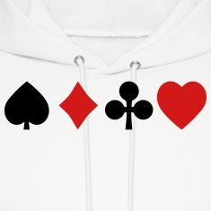 playing cards Hoodies