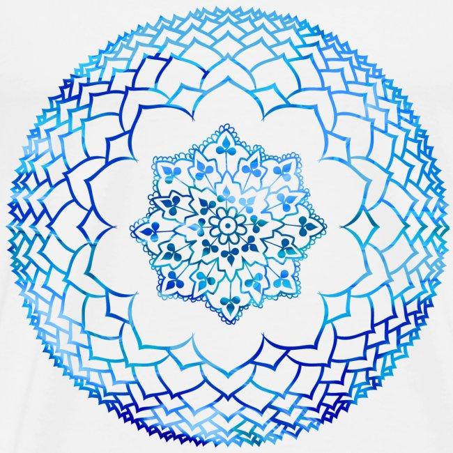 Ethnic Aotearoa Global Henna Lotus Mens Premium T Shirt