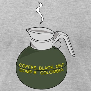 Coffee Grenade - Men's T-Shirt by American Apparel