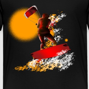 kitesurfing Baby & Toddler Shirts - Toddler Premium T-Shirt