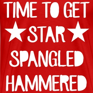 Time To Get Star Spangled Hammered T-Shirts - Men's Premium T-Shirt