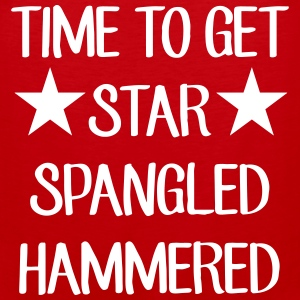 Time To Get Star Spangled Hammered Men - Men's Premium Tank