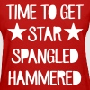 Time To Get Star Spangled Hammered Women's T-Shirts - Women's T-Shirt