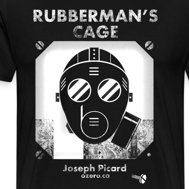 Rubbermans Cage- Gas mask logo