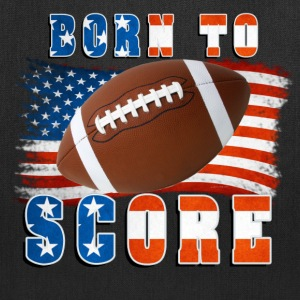 Born to Score Football Bags & backpacks - Tote Bag