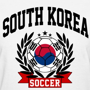 south_korea_soccer Women's T-Shirts - Women's T-Shirt