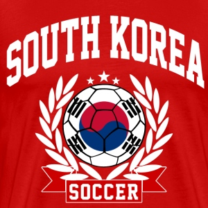 south_korea_soccer T-Shirts - Men's Premium T-Shirt