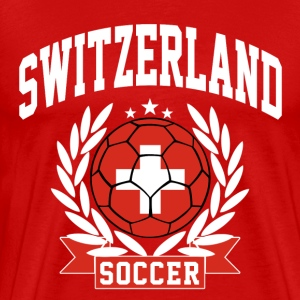 switzerland_soccer T-Shirts - Men's Premium T-Shirt