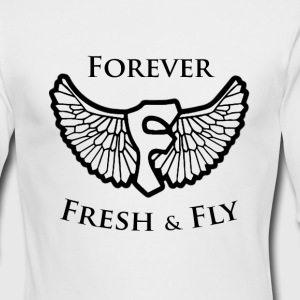 Forever: Fresh & Fly  - Men's Long Sleeve T-Shirt by Next Level