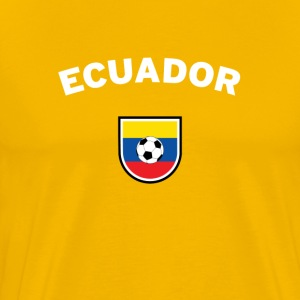 Ecuador Football Supporter T-Shirt  - Men's Premium T-Shirt
