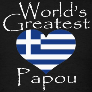 worlds-greatest-papou.png T-Shirts - Men's T-Shirt