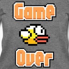 Flappy Bird Game Over Long Sleeve Shirts