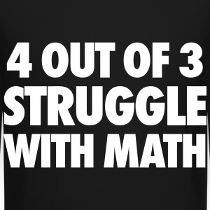 4 Out Of 3 Struggle With Math Long Sleeve Shirts - Crewneck Sweatshirt