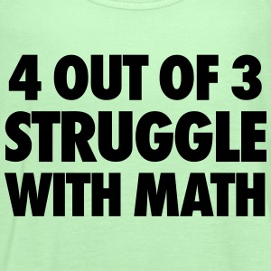 4 Out Of 3 Struggle With Math Tanks - Women's Flowy Tank Top by Bella
