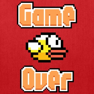 Flappy Bird Game Over Bags & backpacks - Tote Bag