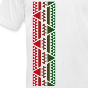 Hawaiian Pyramids  - Men's T-Shirt by American Apparel