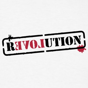 Stencil revolution T-Shirts - Men's T-Shirt
