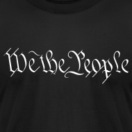 Design ~ We the People American Apparel - White